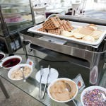 Live Waffle Station Toppings