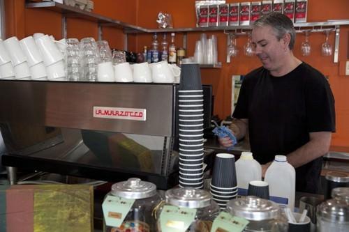 Cafe Aqua Barista Extraordinaire