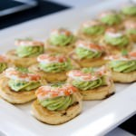 Prawn & Avocado Canapes