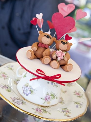 Teddy Cupcake Topper