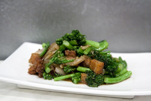 Stir Fried Pork Belly w Greens