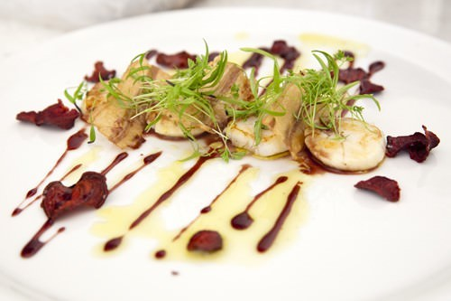Seared Scallops -Flooded Gums Restaurant