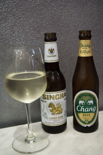 Thai Beer Singha and Chang