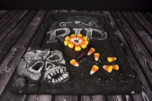 Brownies with Candy Corn