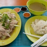 Hainanese Chicken from Tian Tian