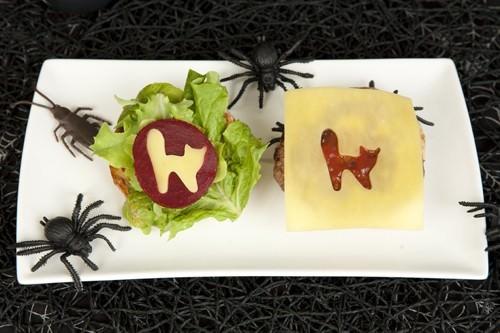 Spooky Halloween Burgers