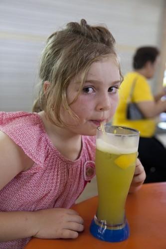 Sugar cane juice in Singapore
