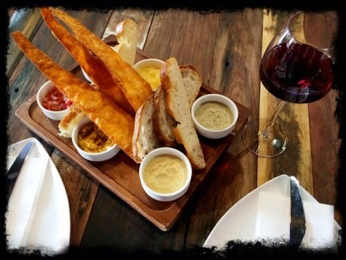 Element Bar Share Plate for 2pp