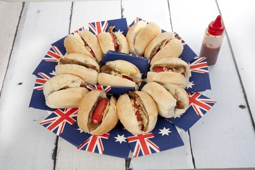 Aussie Dogs Platter for Australia Day