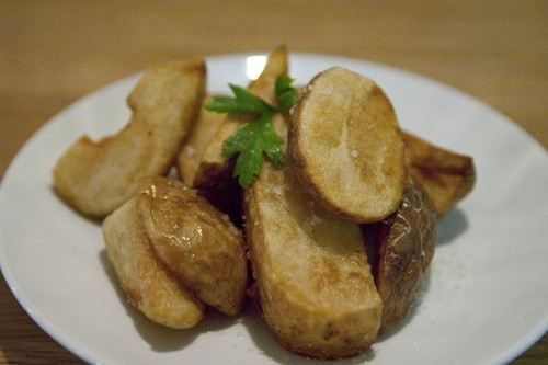 Kiffler Potatoes Fried in Duck Fat