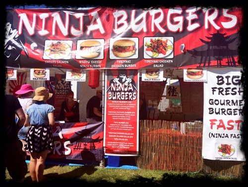 Ninja Burgers @ BDO