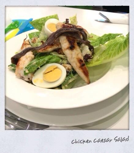 Ceasar Salad w A Twist