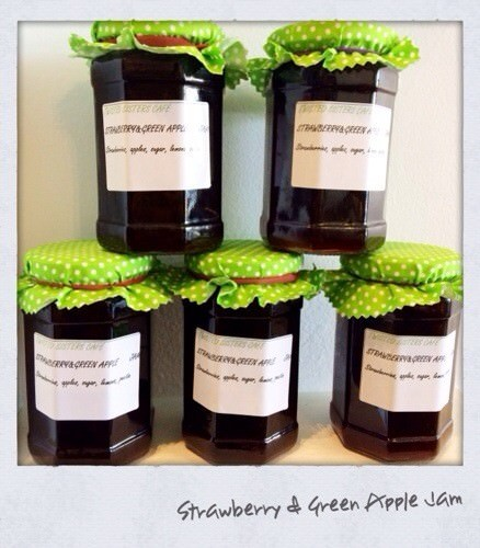 Twisted Sister Strawberry & Green Apple Jam