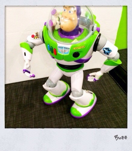 Buzz Lightyear @ Twisted Sister Cafe
