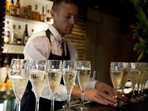 Champagne at The Carlisle Bar