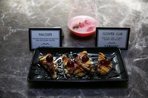 Haloumi Tasting Plate