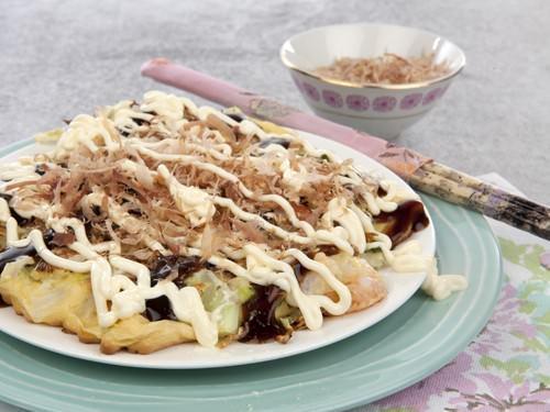 Osaka Style Okonimiyaki