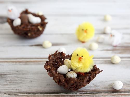 Easter Egg Chick Nest