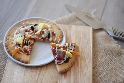 Pizza Cookie Slice