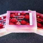 Raspberry and Creme Soap