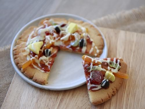 Slice of Pizza Supreme Cookie