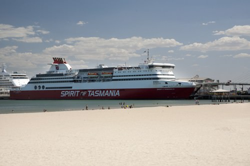 Spirit of Tasmania at Port Melbourne