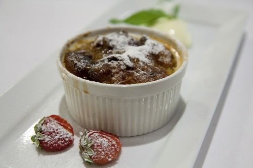 Bread & Butter Pudding Leatherwood Restaurant