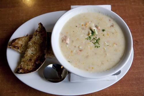 Bruny Hotel Seafood Chowder