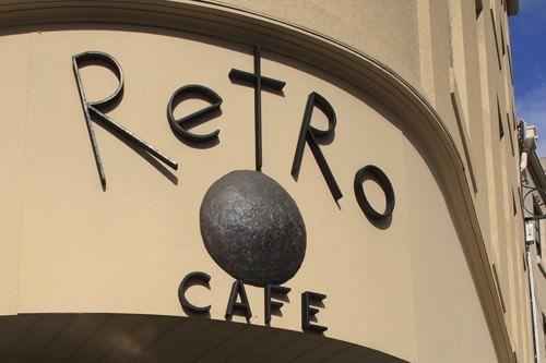 Hobart Retro Cafe Signage