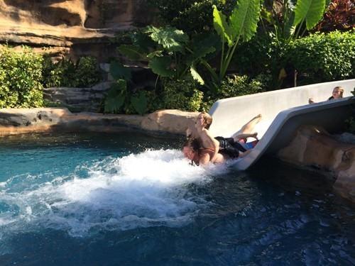 Nirwana Bali 50 metre Pool Slide