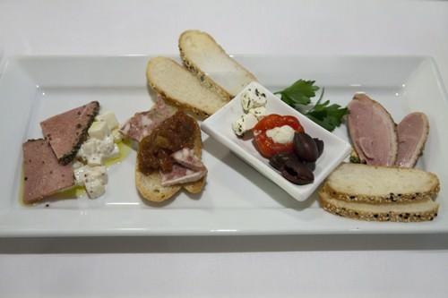 Tasting Plate Leatherwood Restaurant