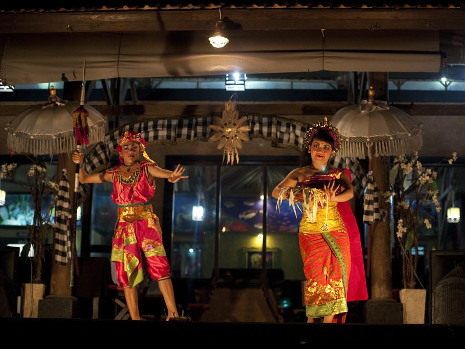 Dancers Jimbaran Bay -Bali