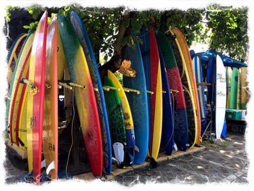 Echo Beach Surf board Hire