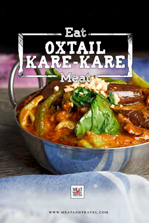 Slow Cooker Filipino Oxtail Kare-Kare Recipe - easy traditional filipino stew