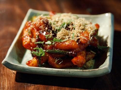 Dobbokki -Chilli Sauce Rice Cakes