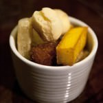 Brazilian Cassava and Polenta Chips