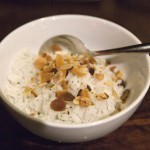 Brazilian rice with toasted Almond