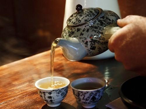 Fermented Green Tea