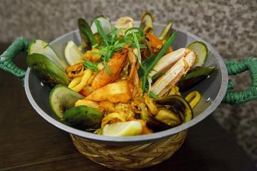 Seafood Paella - La Mesa