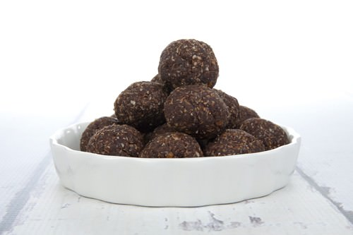 Vegan Chocolate Orange Protein Balls