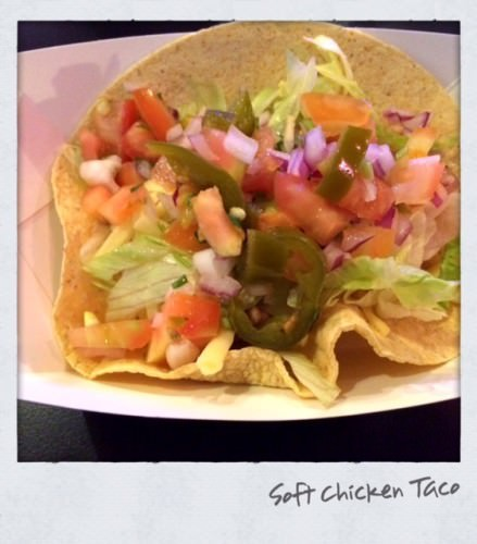 Mad Max Mexican Soft Chicken Taco