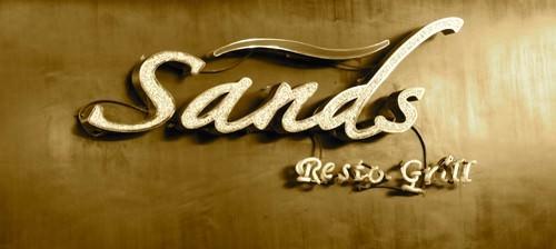 Sands Resto Grill Signage