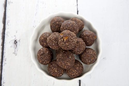 Vegan Chocolate & Orange Balls