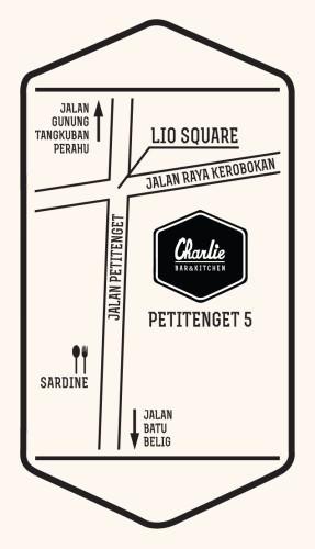 Charlie Bar & Bistro Map
