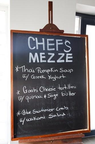 Blackboard Specials -Chefs Mezze