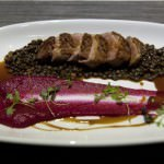 Seared Crispy Thirlmere Duck on Lentil
