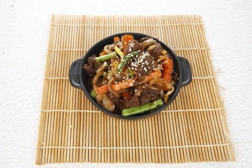 Korean Chili Pork Dish