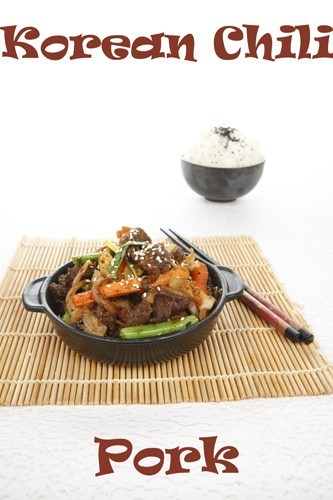 Korean Pork Recipe Title