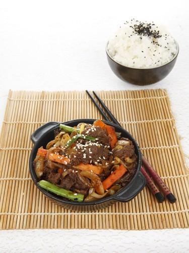 Korean Stir Fry Chili Pork