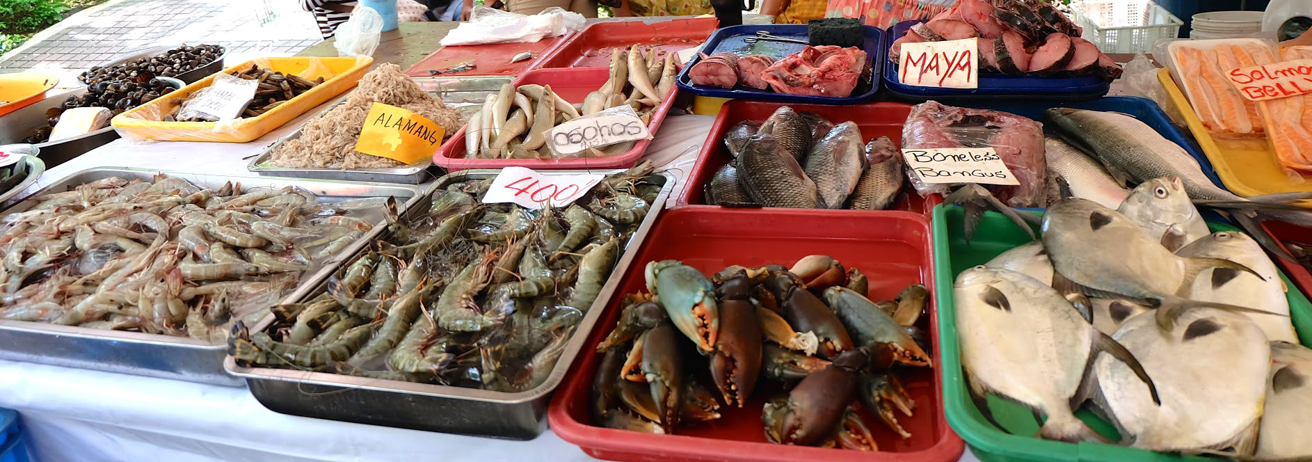 Local Seafood - Salcedo Market